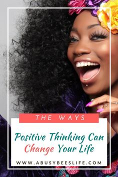 Positive thinking can make you a better and happier person. Leave negativity behind. Read more on how to change your thoughts and self talk. via /abusybeeslife/