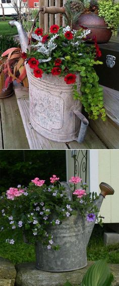Excellent Photos Rooftop Garden decor Popular Rooftop gardening is definitely not new. City dwellers are already tucking plants on roofs and fire Container Flowers, Flower Planters, Container Plants, Garden Planters, Container Gardening, Plant Containers, Gardening Tips, Fairy Doors On Trees, Outdoor Flowers