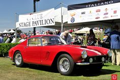 Best of Show - Ferrari 250 GT SWB Berlinetta