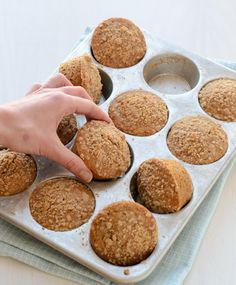 Healthy Oatmeal Maple Muffins