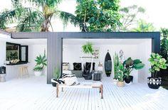 Kaktus København opens succulent new concept store Outdoor Areas, Outdoor Rooms, Outdoor Living, Indoor Outdoor, Exterior Design, Interior And Exterior, Deco Cactus, Three Birds Renovations, Beach Cottage Style