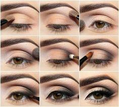 Maquillage pour de jolis yeux marrons