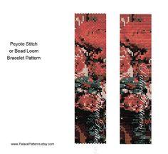 Peyote Stitch Bracelet Pattern 7, Bead Loom Bracelet Pattern, Delica Bead Bracelet Pattern