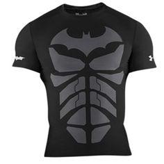 Men's under armour ® alter ego compression shirt gym men, sport outfits, . Superhero Tshirt, Batman Shirt, Batman Batman, Sport Outfits, Cool Outfits, Sportswear Store, Alter Ego, Compression Shorts, Under Armour Men
