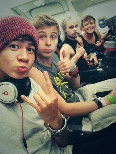 The boys leaving America :(