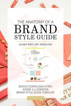 Having a style guide is necessary for consistent visuals and for marketing your blog or business. Brand recognition is vital to building your audience and brand. Using a brand style guide helps make it fool-proof. Download a free brand style guide template.