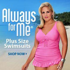 Swimsuits designer swimwear women's bathing suits plussize swimwear http://www.planetgoldilocks.com/swimwear.htm