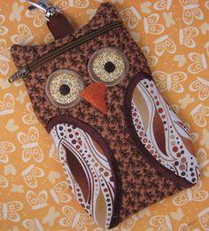 How to Crochet Mobile Cell Phone Pouch for iPhone Samsung - Crochet Ideas Owl Phone Cases, Crochet Phone Cases, Cell Phone Pouch, Iphone Cases, Crochet Hook Set, Love Crochet, Crochet Yarn, Beautiful Crochet, Ipad
