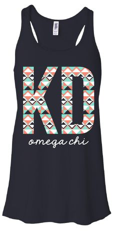 gokotis.com | Tribal KD #KappaDelta #KayDee #Sisterhood #GreekShirts #Sorority (106871)