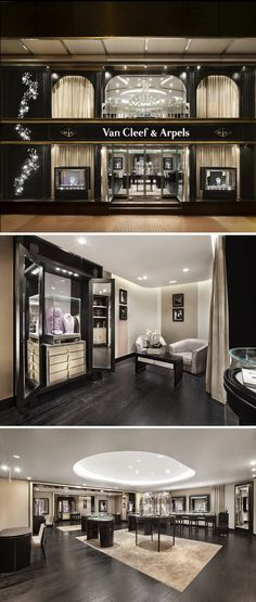 Van Cleef & Arpels Luxury Flagship Store. For more luxury news check out: http://luxurysafes.me/blog/