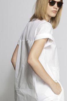 #aviu #ss14 #outfit   #tshirt #white #back