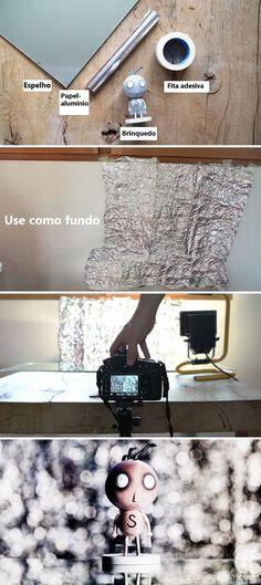 truques caseiros para fazer fotos profissionais
