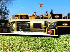Harley - Davidson Container Cafe' on Behance