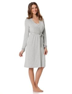A Pea in the Pod: Sleeveless Scoop Neck Shelf Bra Nursing Nightgown And Robe A Pea in the Pod. $79.99