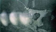 This Photograph Was Taken Hour's Before His Death. Notice That There Are Three Mysterious Orbs In The Image? Some Believe These To Be Finger Smudges While Others Swear Them To Be Spirit's.