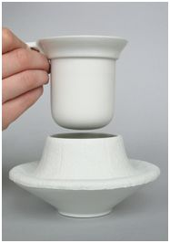 Jorine Oosterhoff, Hotcup. A cup and saucer working together. The saucer is…