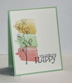 "sample cards with stampin up's ""Happy Watercolor"" - Google Search"