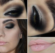 Tutorial - maquiagem de gata com sombras da Makeup GeekPausa para Feminices