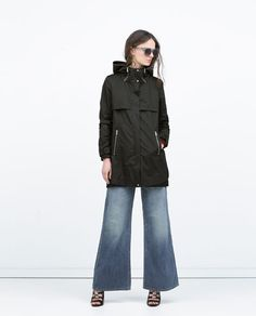 COMBINED KNIT ZIPPED PARKA-Woman-NEW THIS WEEK | ZARA United Kingdom