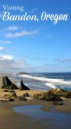 Bandon, Oregon: A Must On Your West Coast Road Trip Planning a road trip along the Oregon Coast? Add Bandon by the Sea to your itinerary. See why this coastal town in Oregon is a must! Oregon Coast Roadtrip, Southern Oregon Coast, Oregon Beaches, Oregon Vacation, Oregon Road Trip, West Coast Road Trip, Oregon Travel, Travel Usa, Travel Portland