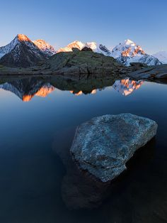 Bernina Alpenglow