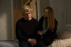 American Horror Story Episode - Protect the Coven - Evan Peters as Kyle and Taissa Farmiga as Zoe American Horror Story Episodes, New American Horror Story, Series Movies, Tv Series, Kyle Spencer, Tate And Violet, Teen Romance, Evan Peters, Better Half