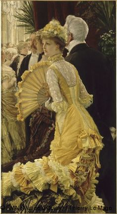 James Tissot,Evening,© RMN (Musée d'Orsay) / Thierry Le Mage