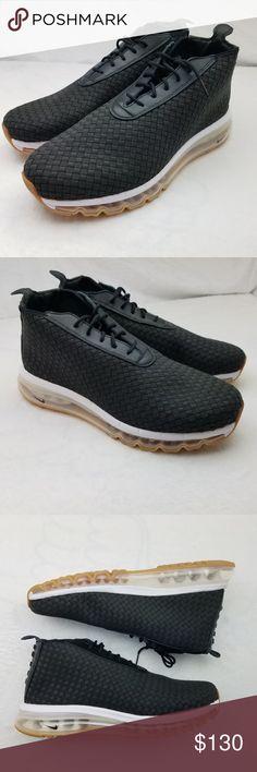 reputable site 82fb0 b5956 Nike Air Max Woven Boot Black 921854 Black Gum Mens Nike Air Max Woven Boot.
