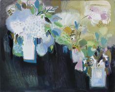 Annabel Fairfax's  Winter Flowers are just one of the wonderful artworks that are part of our Christmas Exhibition 2017. Discover more works by Fairfax and our other artists via link in bio. Signed Oil on canvas 31 x 37 in 78.7 x 94 cms (AnF068) #abstractart #contemporaryart #artlondon #londonart