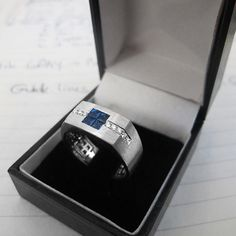 Hey, I found this really awesome Etsy listing at https://www.etsy.com/listing/221722497/men-ring-art-deco-sapphires-and-diamonds