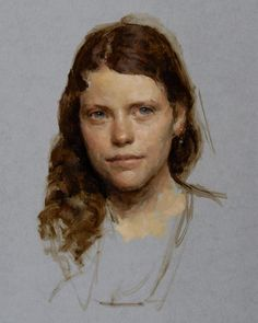 "Artist : Travis Schlaht American Painter."" PORTRAIT """