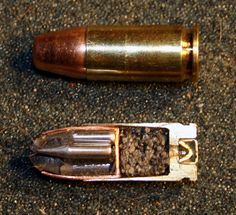 x-section of the 9mm