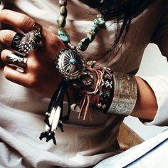 Image via We Heart It #boho #free #namaste #style