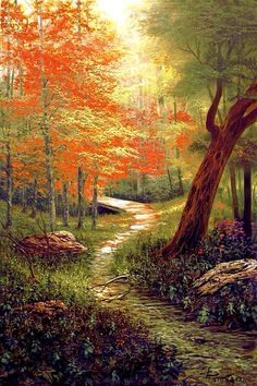 ART~ Following The Trail Laid By Nature.