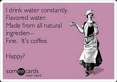 Coffee as good as water is for hydration?- http://www.rxwiki.com/news-article/coffee-moderation-keeps-body-hydrated-drinking-normal-water?autoplay=464935225