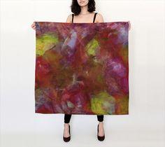 Essence, Sunrise - Silk Scarf, Large Square, 36x36