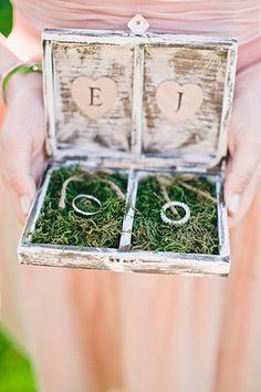 Padrinos de anillos de matrimonio