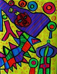 224 Best Hundertwasser Images Visual Arts Abstract Art Painting