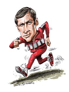 Six Million Dollar Man Caricature Cartoon The Six Million Dollar Man Medium