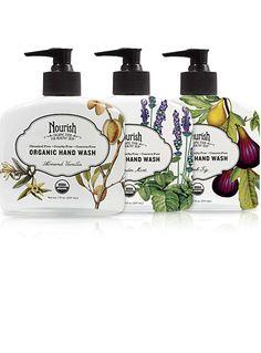 Ultra-Moisturizing Organic Hand Wash Trio Set