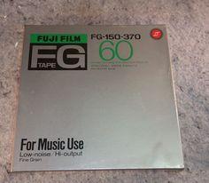 "Fuji FG-150-370 Reel To Reel Tape 7"" New Sealed in factory plastic wrap #Fuji"