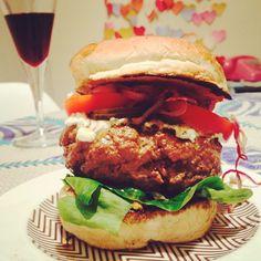 receita | hamburger de picanha com bacon
