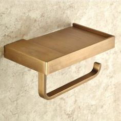 Antique Brass Square Soap Dish Holder with Toilet Paper Holder Towel Holder   eBay
