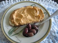Humus with roasted red peppers  Litsa B recipes!