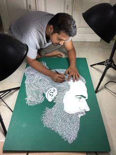 Papercut papercutting art parthkothekar by parthkothekar deviantart com on Origami Paper, Paper Quilling, Paper Art, Paper Crafts, Paper Cutting Art, Paper Cups, Cut Paper, Paper Plates, Art Amour