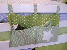 Utensilo - Betttasche für Kinderbett / freie Farbwahl - ein Designerstück von allesausliebe bei DaWanda