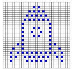Ravelry: Rocket Bobble Chart pattern by Kari Philpott