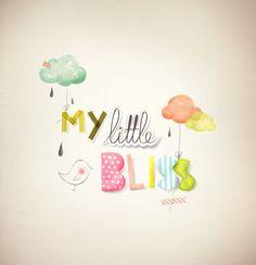 ♥♥ MY LITTLE BLISS ♥♥