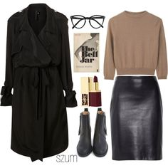 34 by szum on Polyvore featuring mode, Carven, The Row, Acne Studios, Selima Optique, Yves Saint Laurent and Spy Optic