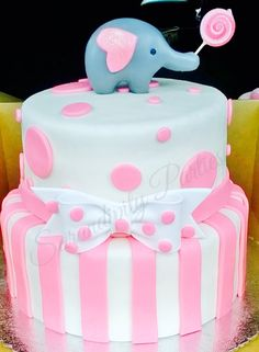 BabyShower Cake! It's a girl!